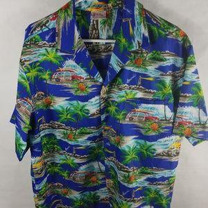 Kalena Fashions of Hawaii Short Sleeve Shirt.